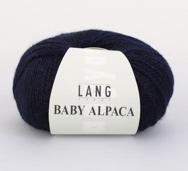 Baby Alpaca Lang Yarns 025 NAVY