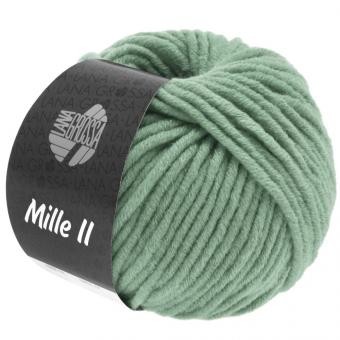 Mille II Lana Grossa 116 graugrün
