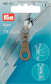Fashion-Zipper Ösen
