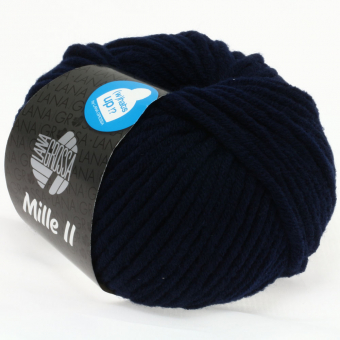 Mille II Lana Grossa 012 nachtblau