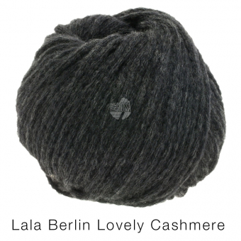 Lovely Cashmere Lala Berlin Lana Grossa 06 Anthrazit