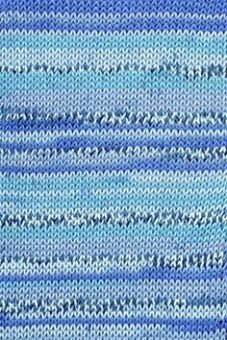 Handarbeitsgarn Color 12-fach von Lang Yarns 006 ROYAL BEDRUCKT