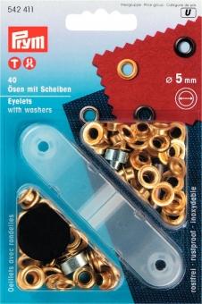 Ösen mit Scheiben 5mm