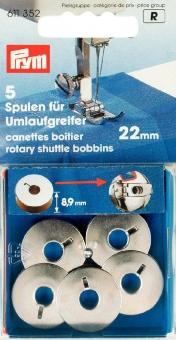 Nähmaschinenspulen für Umlaufgreifer