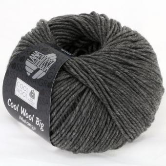Cool Wool Big Uni Lana Grossa 617 dunkelgrau meliert