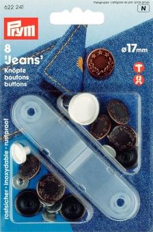 Jeans-Knöpfe 17mm