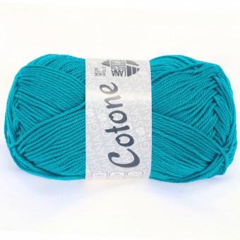 Cotone Wolle Lana Grossa 0010 türkisblau