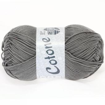 Cotone Wolle Lana Grossa 0019 dunkelgrau