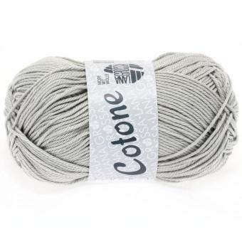 Cotone Wolle Lana Grossa 0027 hellgrau