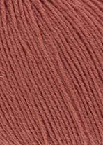 Merino 400 Lace Lang Yarns 075 BRAUNORANGE