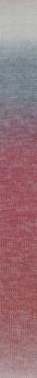 Jawoll Twin Sockenwolle Lang Yarns 503 MELONE/HELLGRAU