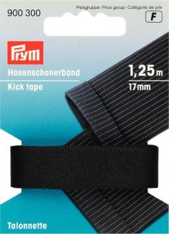 Hosenschonerband schwarz