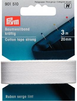 Baumwollband 20mm