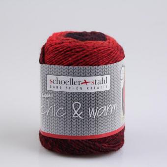 Chic & Warm Schoeller Stahl 03 rubin