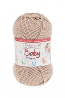 Baby Happy Schoeller Stahl 12 kamel
