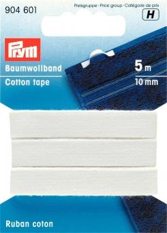 Baumwollband 10mm