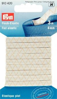 Flach-Elastic 6mm/3m