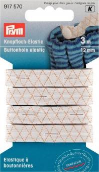 Knopfloch-Elastic