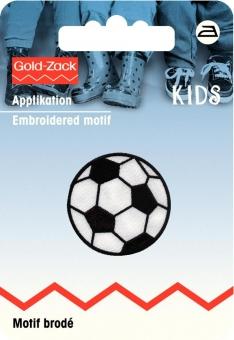 Applikation Fußball klein