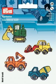 Applikationen Baufahrzeuge
