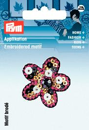 Applikation Blume