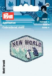 Applikation Patch Pinguin New World