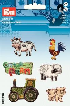 Applikation Farm bunt