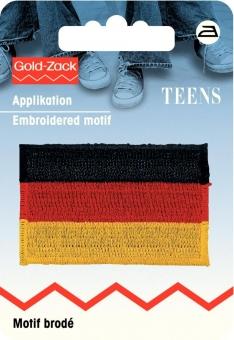 Applikation Fahne Deutschland