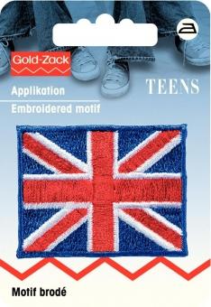 Applikation UK-Flagge