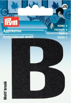 Applikation Buchstabe B