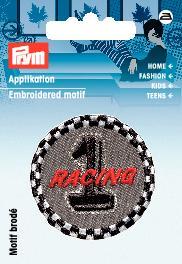 Applikation Label Racing