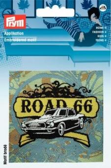 Applikation Label ROAD 66