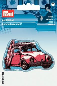 Applikation Label Auto/Surfbrett