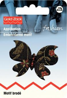 Applikation Asien Schmetterling