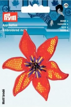 Applikation Blume