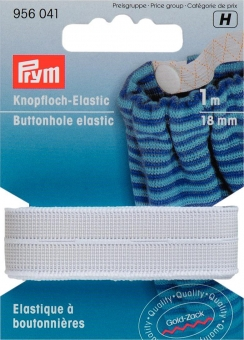 Knopfloch-Elastic 18mm
