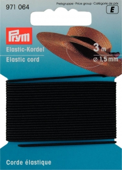 Elastic-Kordel schwarz