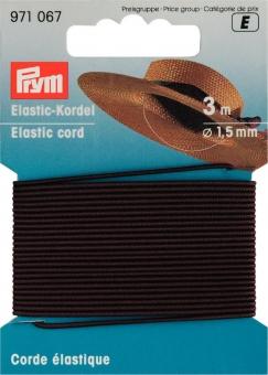 Elastic-Kordel braun