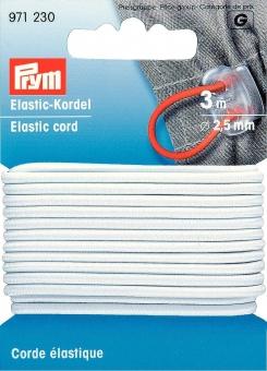 Elastic-Kordel weiß