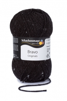 Bravo Wolle Schachenmayr 8375 anthrazit tweed