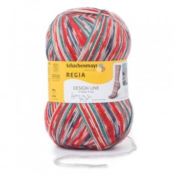 Regia Design Line Sockenwolle 100g 4-fädig 03760 garden color