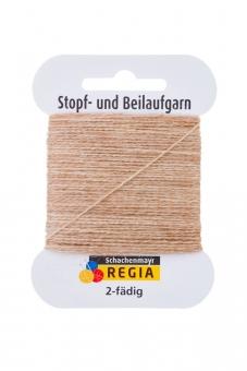 Regia 2-fädig Stopf- und Beilaufgarn 17 hell-kamel-meliert