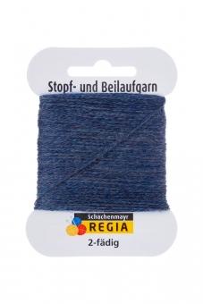 Regia 2-fädig Stopf- und Beilaufgarn 2137 jeans meliert