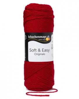 Soft & Easy Schachenmayr 100g-Knäuel 00030 kirsche