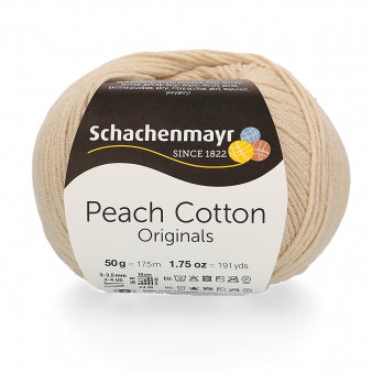 Peach Cotton Wolle Schachenmayr 102 NATUR