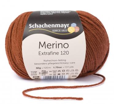 Merino Extrafine 120 Schachenmayr 00107 kupfer
