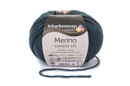 Merino Extrafine 120 Schachenmayr 00178 graugrün