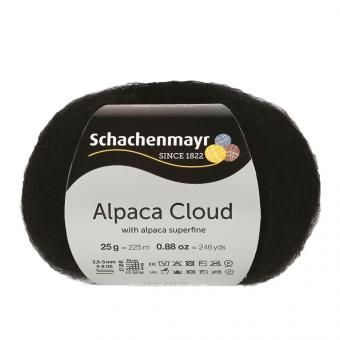 Alpaca Cloud Schachenmayr 00099 black