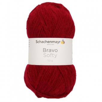 Bravo Softy Schachenmayr 08222 Weinrot