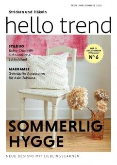 Anleitungsheft Nr. 6 Hello Trend  von Schachenmayr